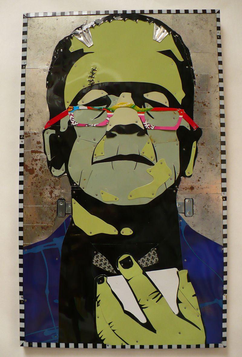 Frankenstein checks a text