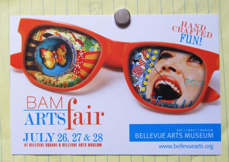 BAM postcard